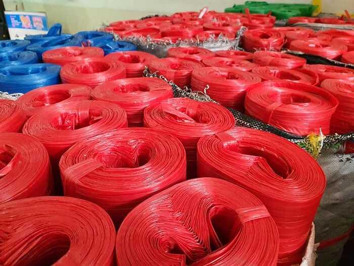 Cuộn dây Nilon màu đỏ